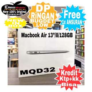 "Kredit Low Dp Macbook Air MQD32-13""/i5/8/128GB-ditoko Promo ktp+kk wa;081905288895"