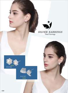 Stud Earring Price Indicated Each Picture :)
