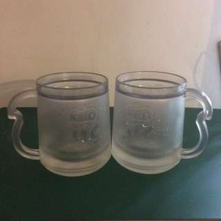 Milo Ais double layers plastic mug