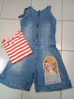 Overall jeans miss jolie