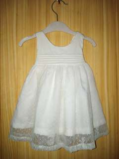 Baptismal baby dress(Crib couture)