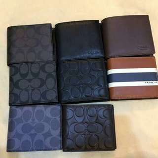 COACH VARIATION SMALL WALLET