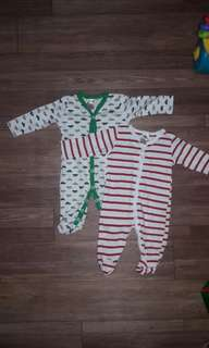 Next baby frogsuit bundle
