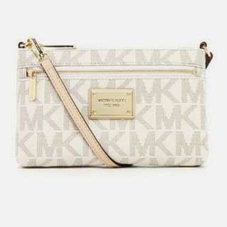 Michael Kors Jet Set Large Monogram Wristlet (Bought In New York)
