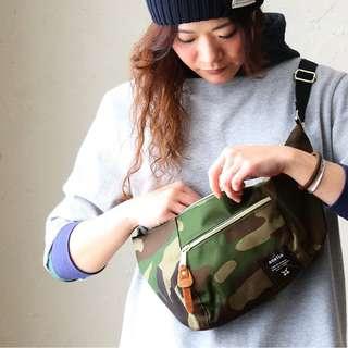 日本代購 anello  女裝 男裝背部單肩包斜袋|袋背旅行包的單肩包