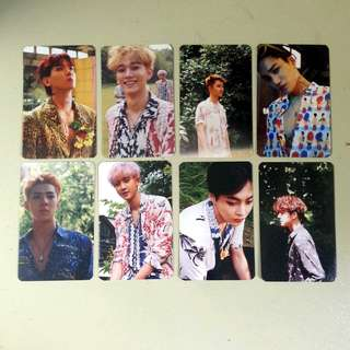 [Set] Exo The War Kokobop Duplicate Photocards