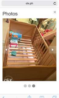 Baby Wood Cot almost new for sale.