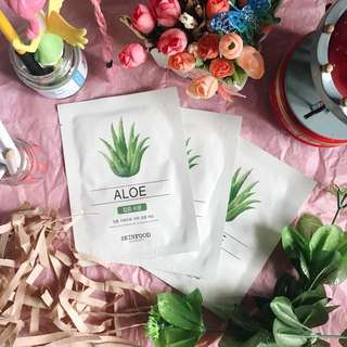 3 for 199 Aloe SkinFood Mask