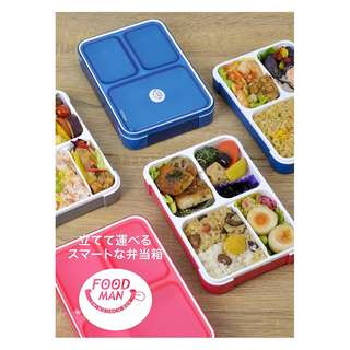 #預購 . FOODMAN-THIN LUNCH BOX 薄身飯盒 .