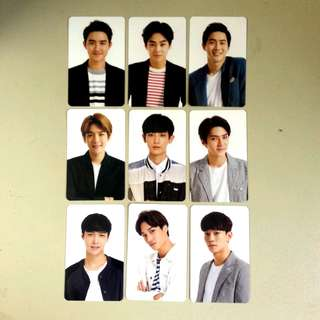 [Set] Exo Love Concert Duplicate Photocards