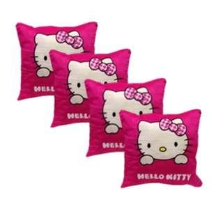 Throw pillowcase with zipper set of 4