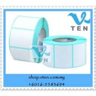 Thermal Barcode Sticker Paper 70x30mm For Barcode Printer