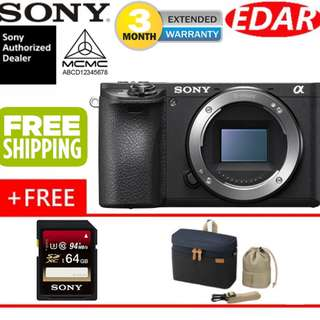 SONY A6500 BODY CAMERA ONLY  ««ORIGINAL & OFFICIAL SONY»»