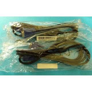 D-Sub VGA Cable 2 pcs