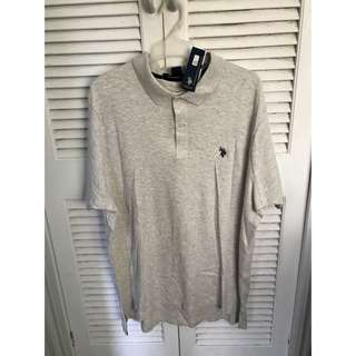 Grey Ralph Lauren Polo Shirt
