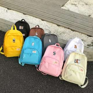 We Bare Bear Backpacks