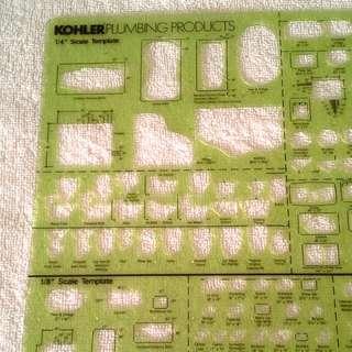 Kohler Plumbing drafting Products