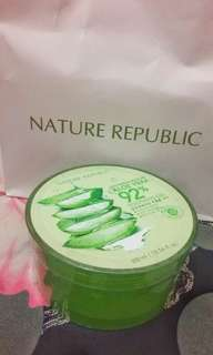 NATURE REPUBLIC ALOE VERA GEL 100% ORIGINAL