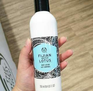 Fujian water lotus body lotion