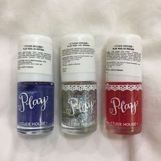 (NEW) Play Nail Polish Etude House