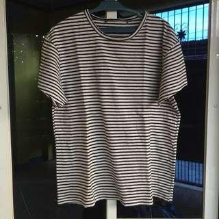 Basic Stripe T Shirt