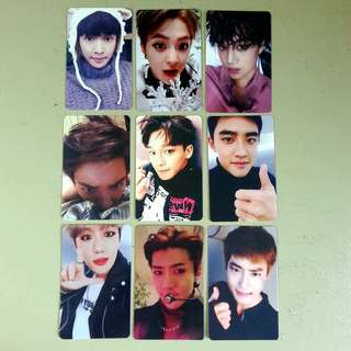 [Set] Exo Sing For You Duplicate Photocards
