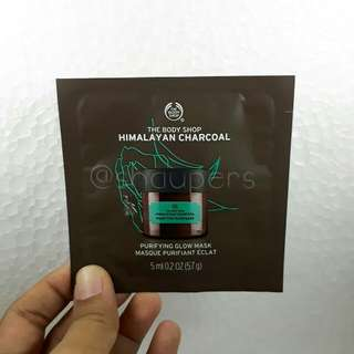 Himalayan Charcoal Purifying Glow Mask Sachet