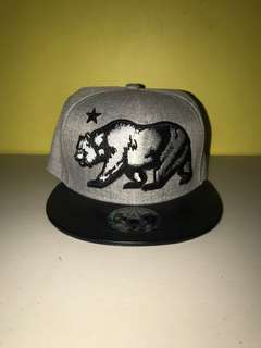 Sole addiction California Republic Bear snapback baseballcap