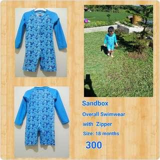 Sandbox Overall Swimwear