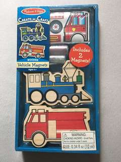 Melissa and Doug magnet craft