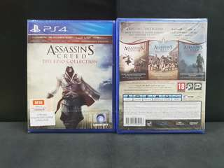 [BN] PS4 Assassin's Creed The Ezio Collection/Trilogy (Brand New)