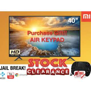*SALE*40inch Xiaomi TV 4A Android LED TV FULL HD Free Gift