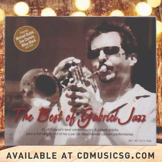 🚚 [Jazz] 2CD + 1DVD Gabriel Mark Hasselbach - The Best Of Gabriel Jazz
