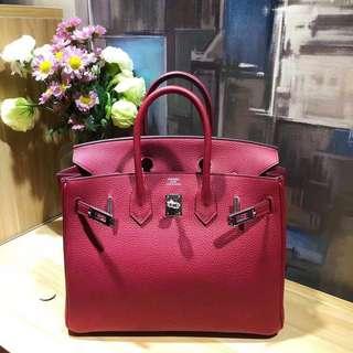 Hermes Birkin 25 K1石榴紅💕X刻‼️女神氣質色🤟🏻近新美品,超級好價HKD 8xxxx