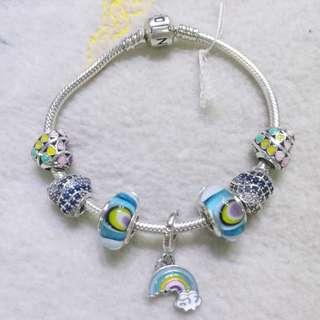Pandora charms - rainbow, summer edition