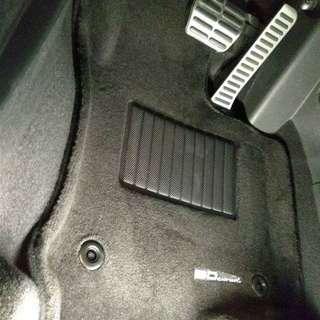 3D Maxpider Car Mat - Volkswagen Scirocco
