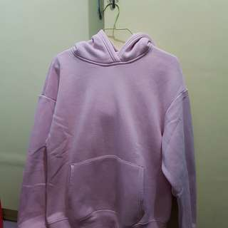 H&M OVERSIZED PINK HOODIE