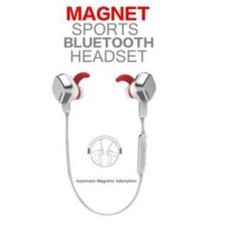 (BNIB) Remax Magnet Sports Bluetooth Headset S2