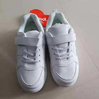 Brand New White School Shoes