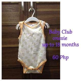 Baby Club Onesie