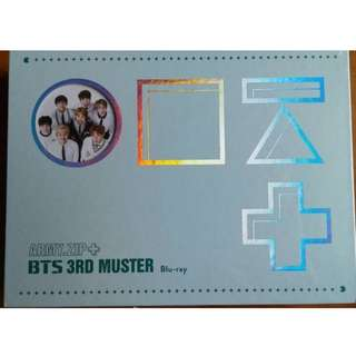ON HAND UNSEALED BTS 3rd Muster BLU RAY NO STANDEE