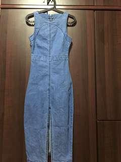 Cotton On Midi Denim Dress