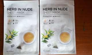 Missha herb in nude sheet mask