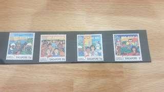 Singapore stamp 1990