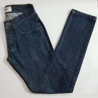 Topman Skinny Fit Denim Jeans