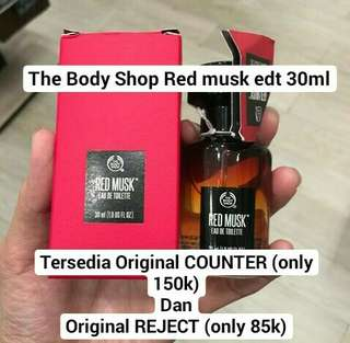 The Body Shop Red Musk edt 30ml