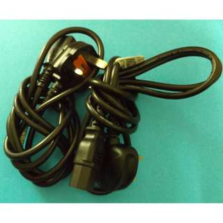 Power Cord with 10A fuse  2pcs