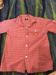 Superman Polo for kids 7-8yrs old petite