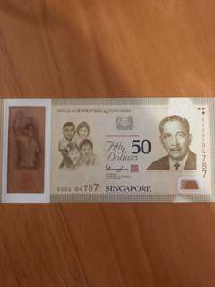 新加坡50週年紀念鈔