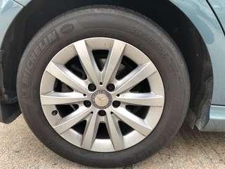 Benz B180 16吋呔鈴
